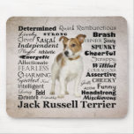 Rasgos Mousepad de Jack Russell