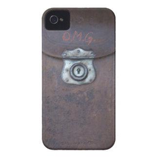 Rasguño antiguo de la impresión de la caja de la iPhone 4 Case-Mate carcasas