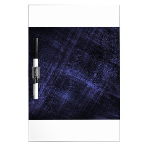 Rasguño azul del dril de algodón pizarras blancas