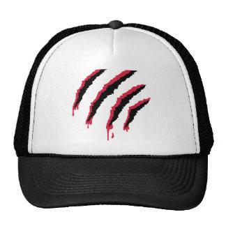 Rasguño sangriento gorra