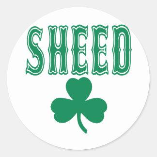 Rasheed Wallace Classic Round Sticker