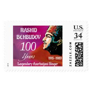 Rashid Behbudov- Legendary Azerbaijani Singer Stamp