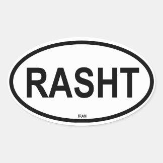 RASHT OVAL STICKER