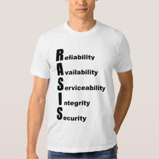 RASIS - black logo- T-shirt