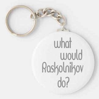 Raskolnikov Llavero Redondo Tipo Pin
