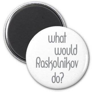 Raskolnikov Refrigerator Magnet
