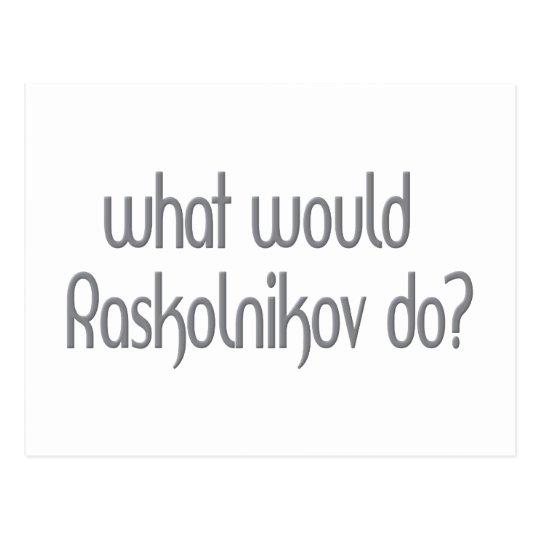 Raskolnikov Tarjeta Postal
