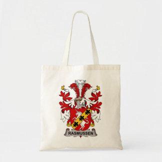 Rasmussen Family Crest Canvas Bag