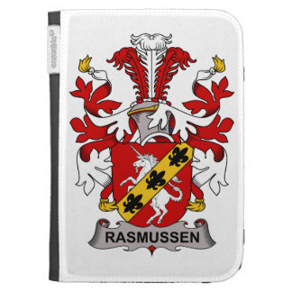 Rasmussen Family Crest Kindle Cover
