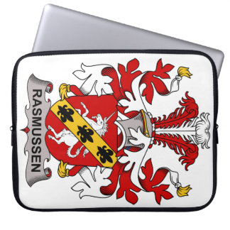 Rasmussen Family Crest Laptop Sleeves