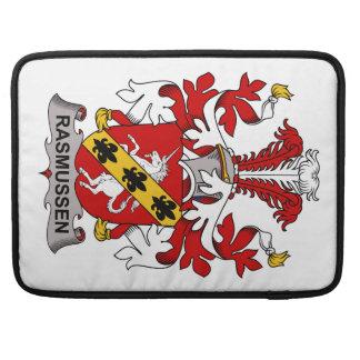 Rasmussen Family Crest Sleeve For MacBooks