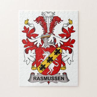 Rasmussen Family Crest Jigsaw Puzzles