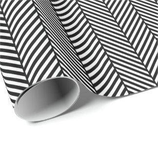 Raspa de arenque blanco y negro