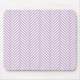 Raspa de arenque de la púrpura de la lila alfombrilla de raton