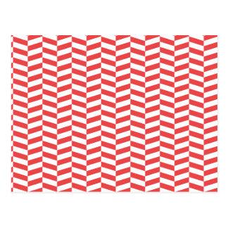 Raspa de arenque roja tarjetas postales