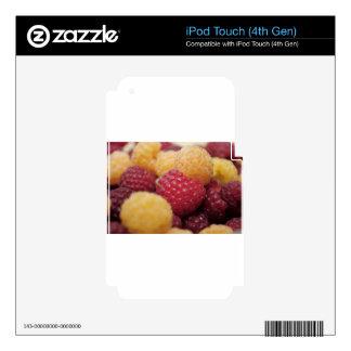 raspberries-796 iPod touch 4G calcomanías