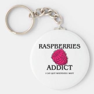 Raspberries Addict Key Chains