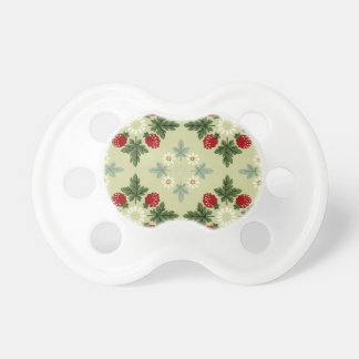 Raspberries and Blossoms Pacifier