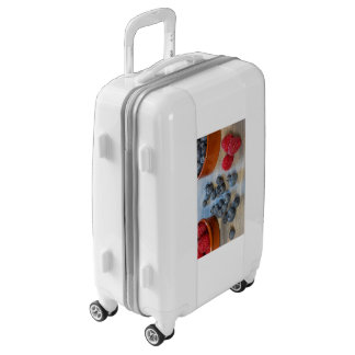 Raspberries and Blueberries Luggage