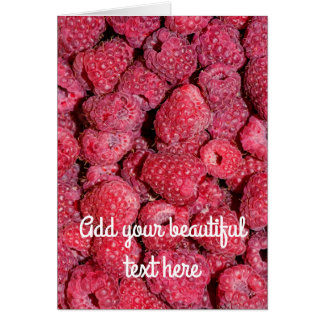 Raspberries Card