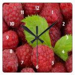 Raspberries Clock