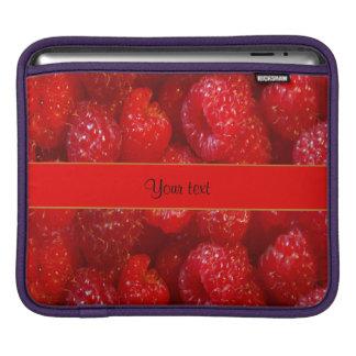 Raspberries iPad Sleeve