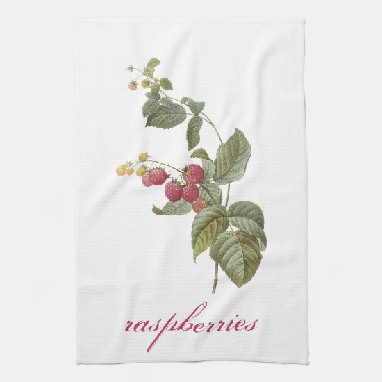 Raspberries Kitchen Towels