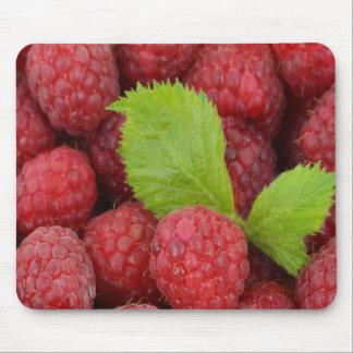 Raspberries Mouse Pad