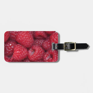 Raspberries Photo Luggage Tag