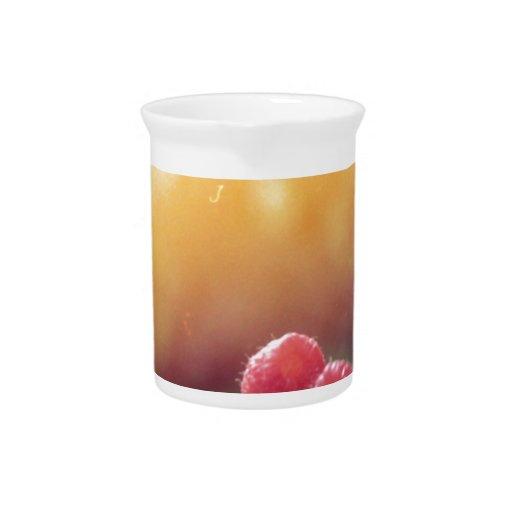 Raspberries Beverage Pitchers