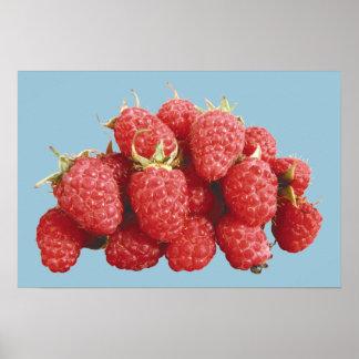 Raspberries Poster