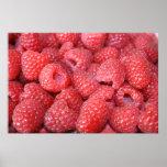 Raspberries Poster/Print
