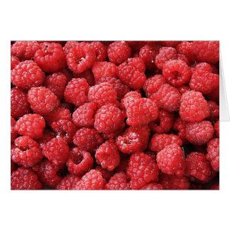Raspberries Stationery Note Card