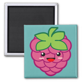 Raspberry 2 Inch Square Magnet