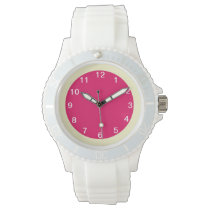 Raspberry and Cream Watch