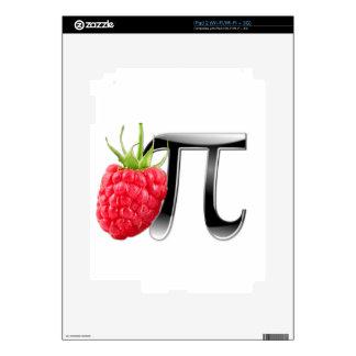 Raspberry and Pi symbol iPad 2 Skins