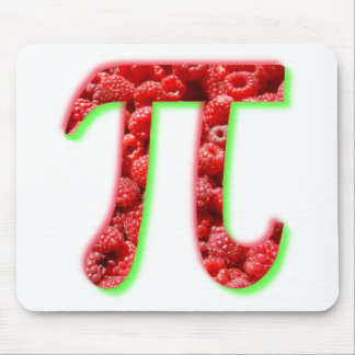 Raspberry and Pi symbol Mouse Pad