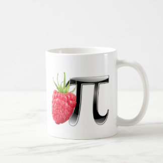 Raspberry and Pi symbol Mug