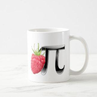 Raspberry and Pi symbol Classic White Coffee Mug