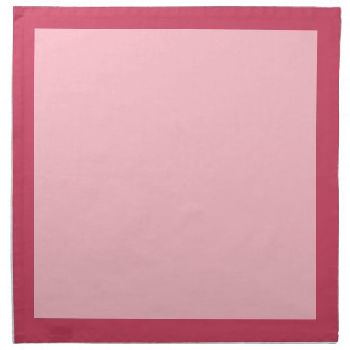 Raspberry and Pink Napkins