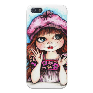 Raspberry Beret...A French Connection iPhone SE/5/5s Cover