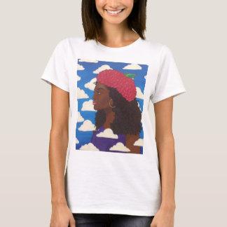 Raspberry Beret basic ladies t T-Shirt