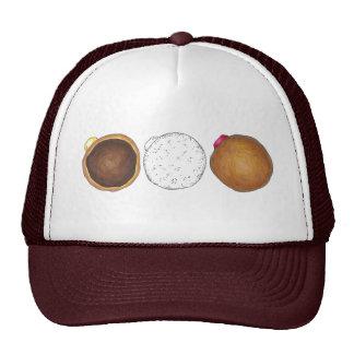 Raspberry, Boston, Creme Filled Donut Donuts Hat