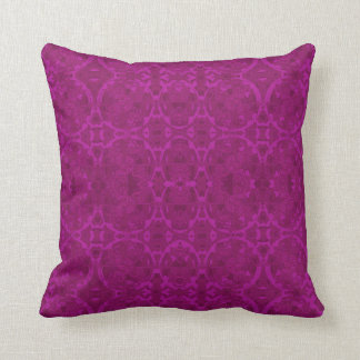 Raspberry Brocade Pillow in 2 Sizes