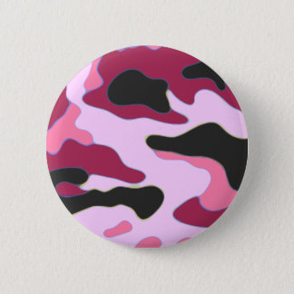 Raspberry Camo Button