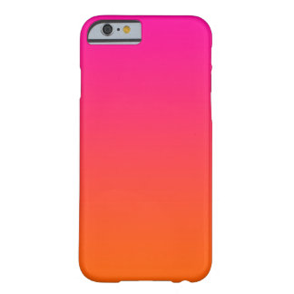 Raspberry Citrus Ombre Barely There iPhone 6 Case