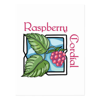 Raspberry Cordial Postcard