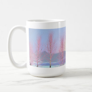 Raspberry Creme Birch Mug