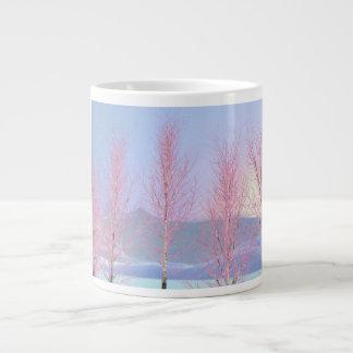 Raspberry Creme Birch Jumbo Mugs