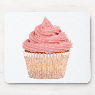 Raspberry cupcake mouse pad